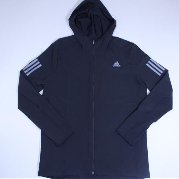 ed1856cc55cf Adidas Energy Running Hooded Track Jacket